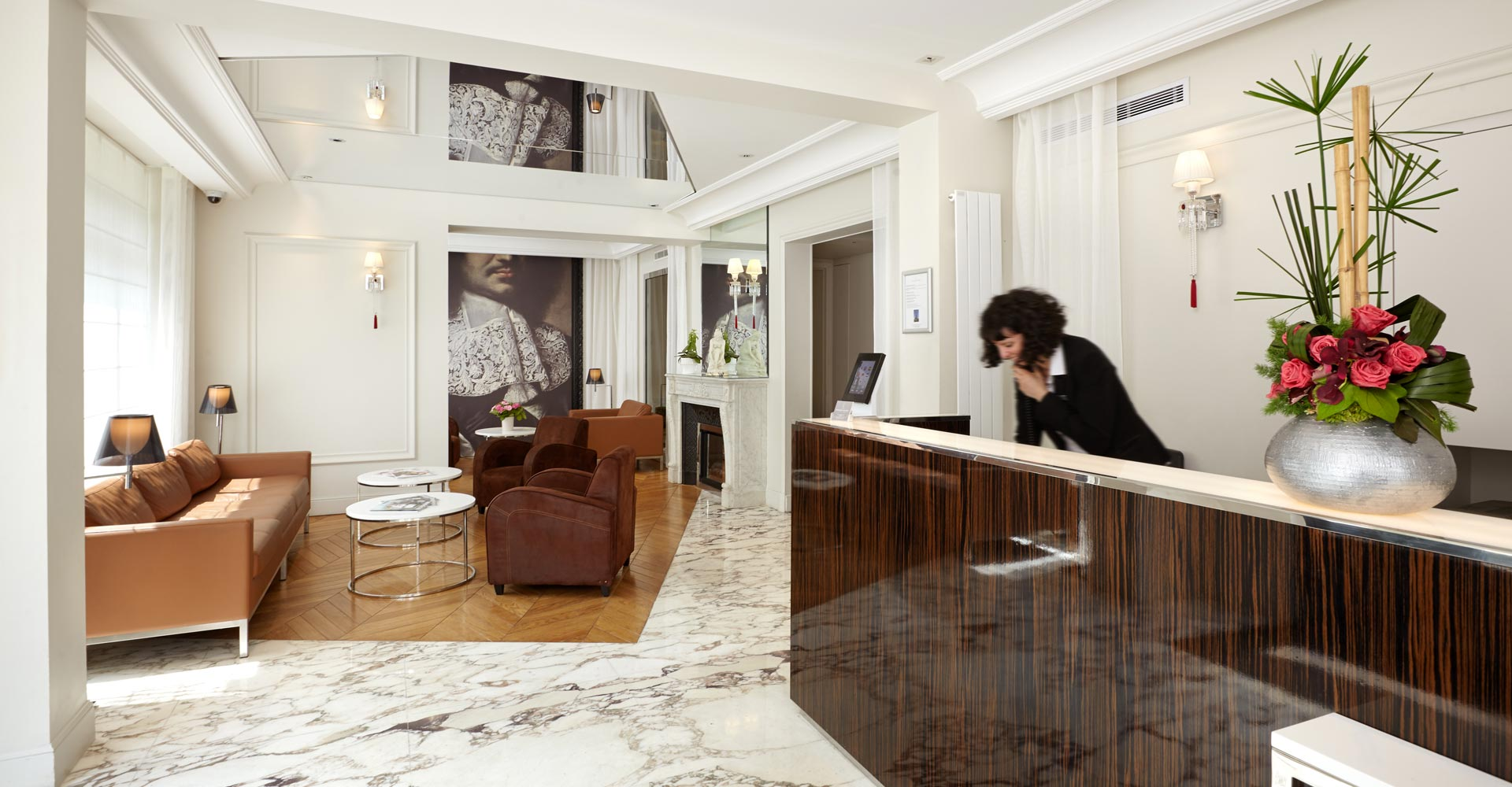 Lobby Hotel 3*Paris | Hotel Tourisme Avenue Paris 15